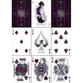 Artifice Purple Spielkarten