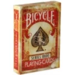 Bicycle Vintage Series 1800 Rot
