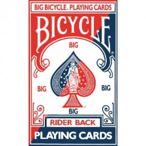 Bicycle Poker Riesenkarten Nr 8082 Blau