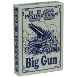 Bicycle Big Gun Spielkarten Blau