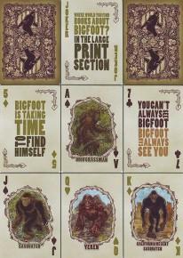Bicycle Bigfoot Spielkarten
