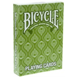Bicycle Peacock Deck Grün