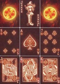 Bicycle Stargazer Sunspot Spielkarten