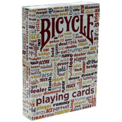 Bicycle Table Talk Deck Warm - Rot