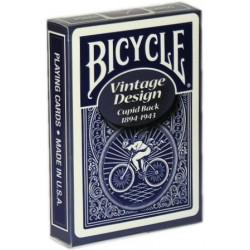 Bicycle Vintage Cupid Back Blau