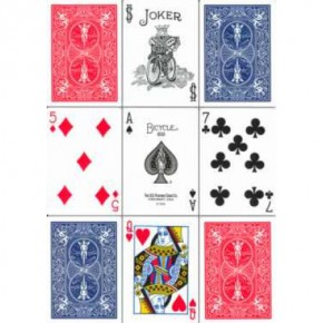 Bicycle Poker 808 Deck (Altes Design)