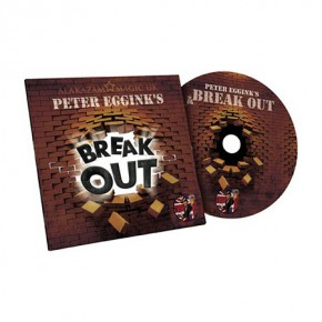 Break Out von Peter Eggink Blau