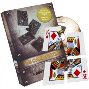 The Card Puzzle von Woody Aragon