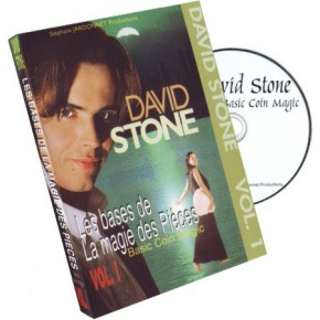 Coin Magic by David Stone DVD 1