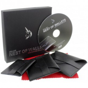 Deluxe Nest of Wallets (Nesting Wallets)