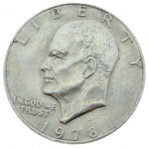 US-Dollar Münze Dollar (Eisenhower)