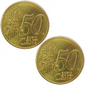 Doppelmünze Doppel Zahl Münze