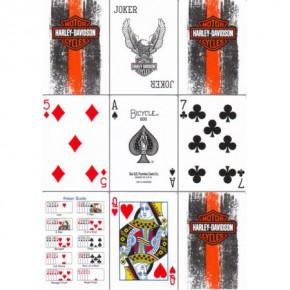 Harley Davidson Spielkarten