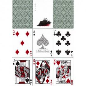 Madison Dealers Spielkarten (Erdnase Green)
