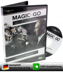 Magic to Go von Felix Gauger (15 Zaubertricks für jede Gelegenheit)