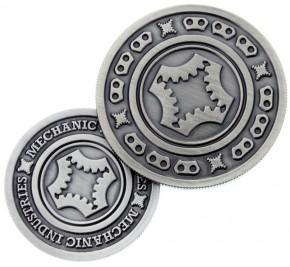 Mechanic Coin (Gunmetal Grey)