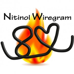 Nitinol Wiregram Herz 3