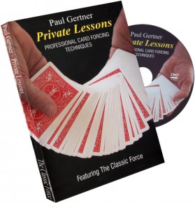 Private Lessons - Card Forcing Techniques von Paul Gertner
