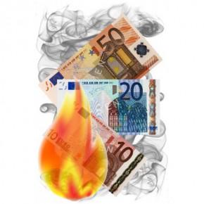Flash-Zaubergeld (10er Pack) 50 Euro