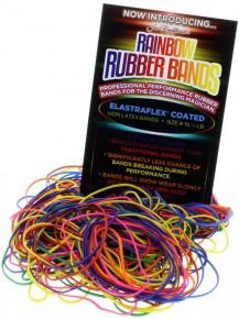 Rainbow Rubber Bands - Profi-Gummibänder Schwarz
