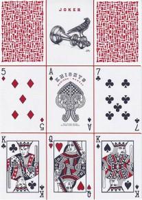 Red Knights Spielkarten