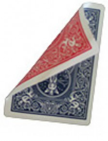 Bicycle Poker Jumbo-Trickkarte (Riesenkarte) Rot / Blau