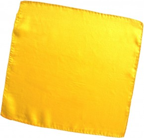 Seidentuch Gelb / 9 Inch / 23 cm