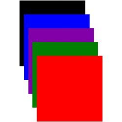 Seidentuch 12 Inch / Blau