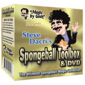 Spongeball Toolbox mit DVD