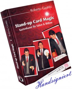 Stand-up Card Magic von Roberto Giobbi