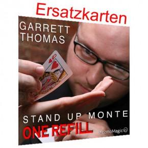 Stand Up Monte Ersatzkarten