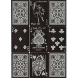 Tally-Ho Black Viper Deck Fan Back