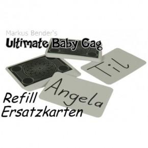 Ultimate Baby Gag Ersatzkarten unbehandelt / 50 Stück