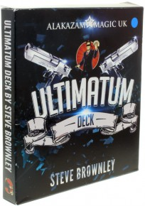 Ultimatum Deck von Steve Brownley Blau
