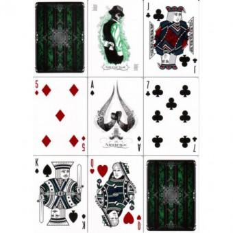 Artifice Emerald Spielkarten