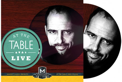 At the Table Live Lecture - Gregory Wilson