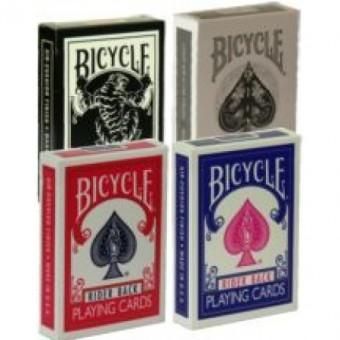 Mini Karten Bicycle Rot