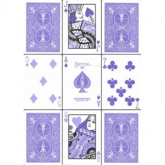 Bicycle Poker Lavender