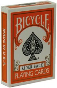 Bicycle Poker Color Edition Orange