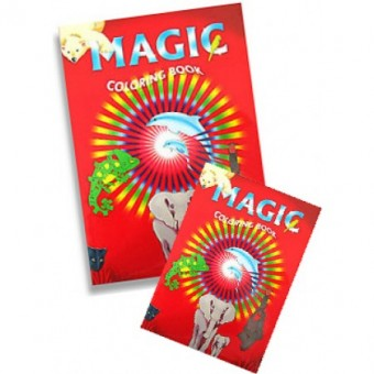Magic Coloring Book A4 Groß