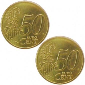 Doppelmünze Doppel-Vorderseite (Zahl)