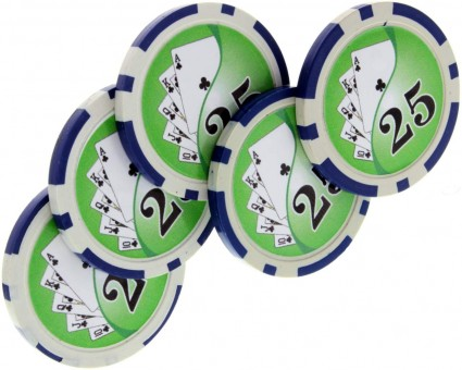 Expanded Shell Pokerchip Set