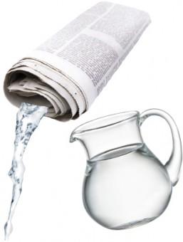 Fidelica Wasserzeitungs-Gimmick