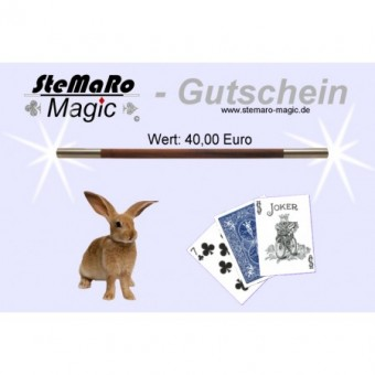 40 Euro Gutschein