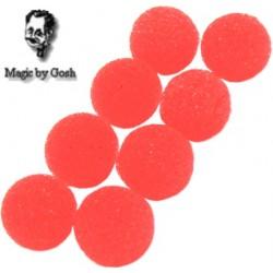 Mini Schwammbälle Rot