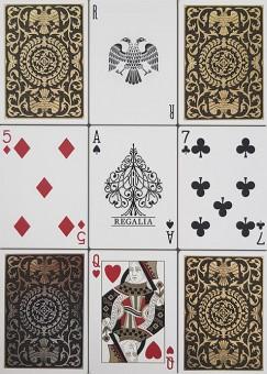 Regalia Spielkarten von Shin Lim