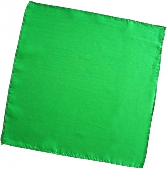 Seidentuch Grün / 12 Inch / 30 cm