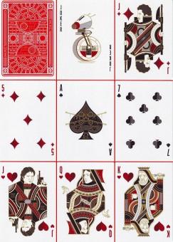 Star Wars Spielkarten - The Dark Side (Rot)