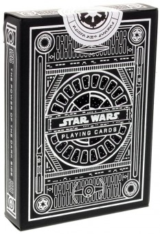 Star Wars Spielkarten - Dark Side Silver Edition (Grau)