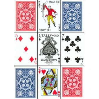 Tally-Ho Poker Fan Back